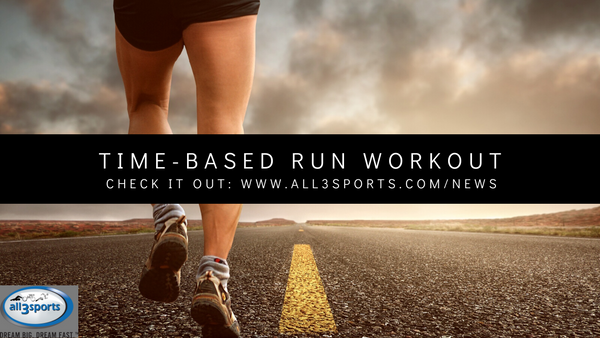 Social Distancing Time-Based Run Workout