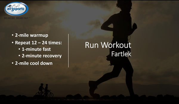Social Distancing: 1-Minute Fartlek Run