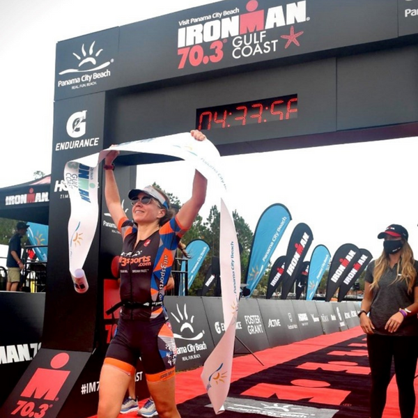 Race Report: First Female Overall Winner