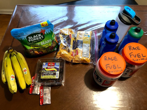 Food and drink for endurance cycling