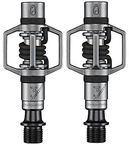 Crank Brothers Eggbeater 3 Silver/Black Black Spring