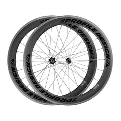 Profile Design 78/Twenty Four Rear Full Carbon Clincher Wheel Black Logo
