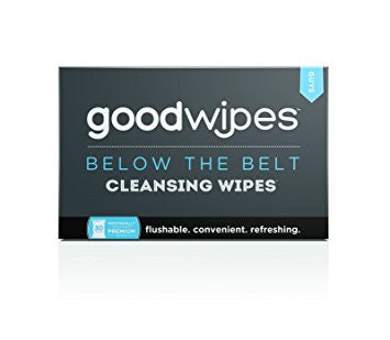 goodwipes Below The Belt Cleansing Wipes - Guys