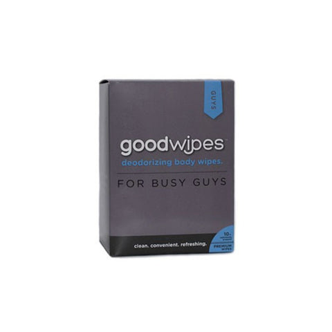 goodwipes Deodorizing Body Wipes For Guys