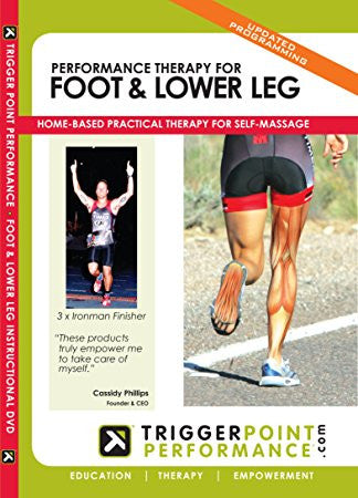 Trigger Point Performance Therapy Foot and Lower Leg DVD