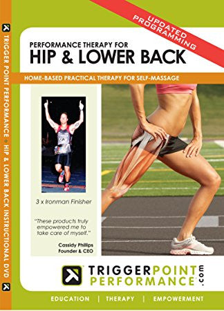 Trigger Point Performance Therapy Hip and Lower Back DVD