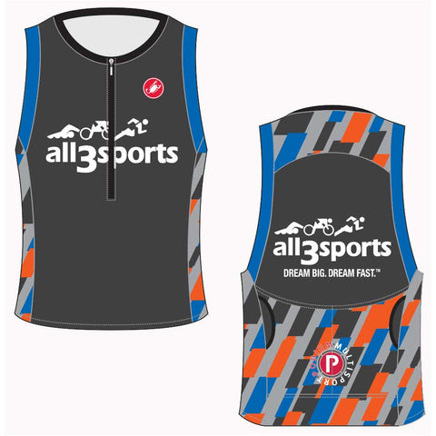 2019 all3sports.com Team Free Tri Top