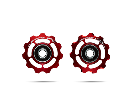 CeramicSpeed Shimano 11-speed Pulley Wheels Alloy Red