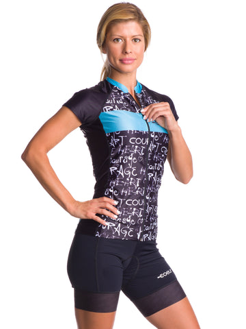 Coeur Graffiti Lightweight Summer Jersey - Women's