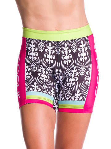 Coeur Tropical Punch Tri Shorts - Women's