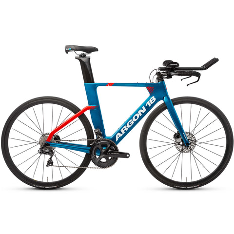 Argon 18 E-117 Tri Disc Ultegra Di2 Triathlon Bike