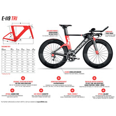 Argon 18 E-119 2018 Triathlon Bike