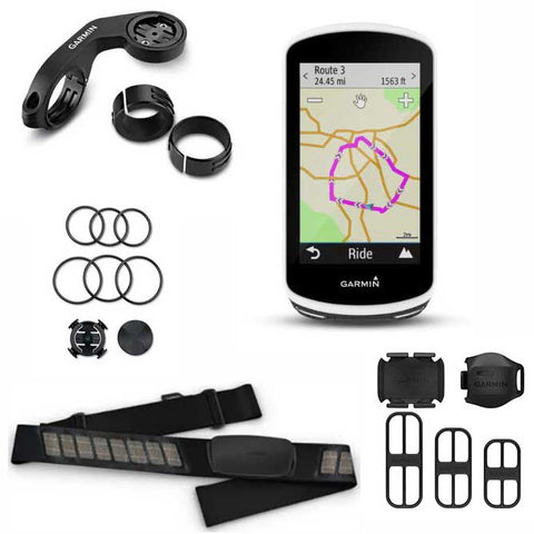 Garmin Edge 1030 Computer Bundle