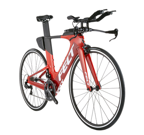 Felt IA16 Red/White Triathlon Bike