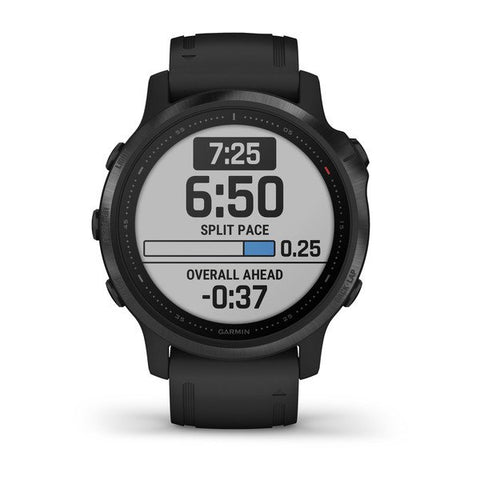 Garmin fenix 6S 42mm Black, Wristband: Black