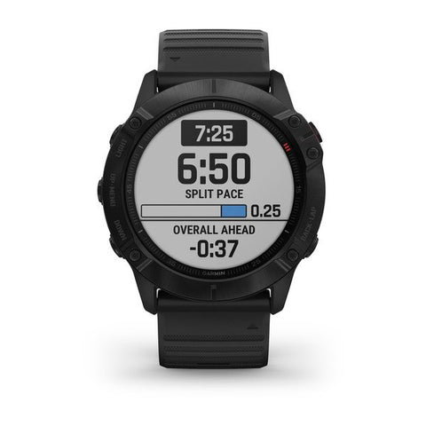 Garmin fenix 6X 51mm Black, Wristband: Black