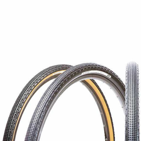 Panaracer GravelKing SK Tire, Folding Bead, Black Sidewall