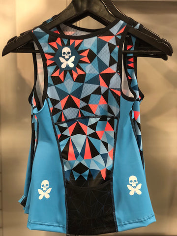 Betty Designs Custom Kaleidoscope Tri Top