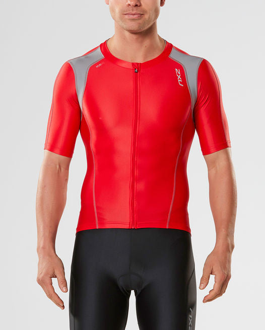 2XU Compression Sleeved Tri Top - Men's