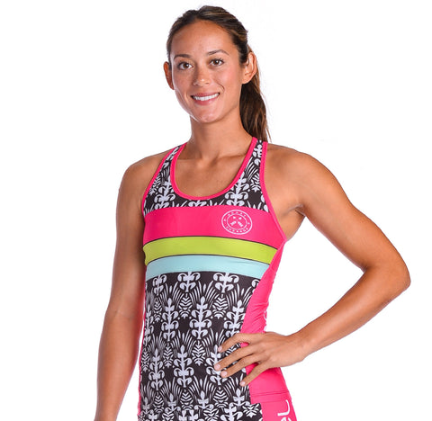 Coeur Tropical Punch Tri Tank - Women's
