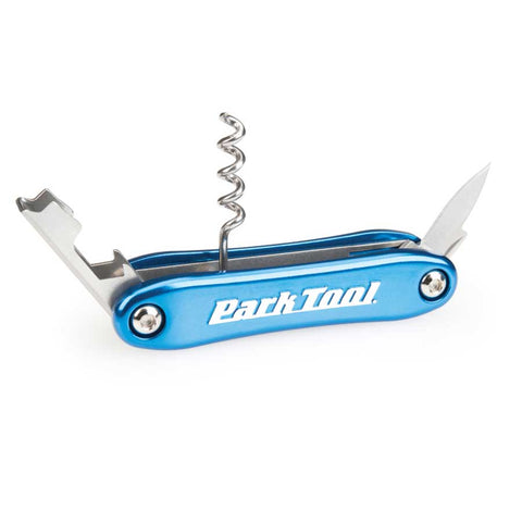 Park Tool BO-4 Corkscrew and Bottle Opener Fold-Up Tool
