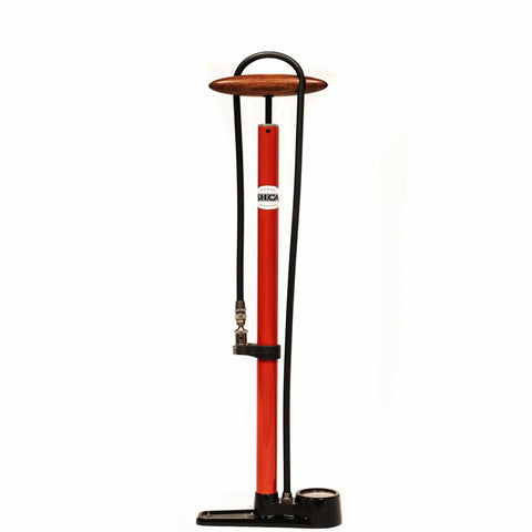 Silca Pista Floor Pump Red