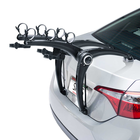 Saris SUPERBones 3 Bike Trunk Rack: Black