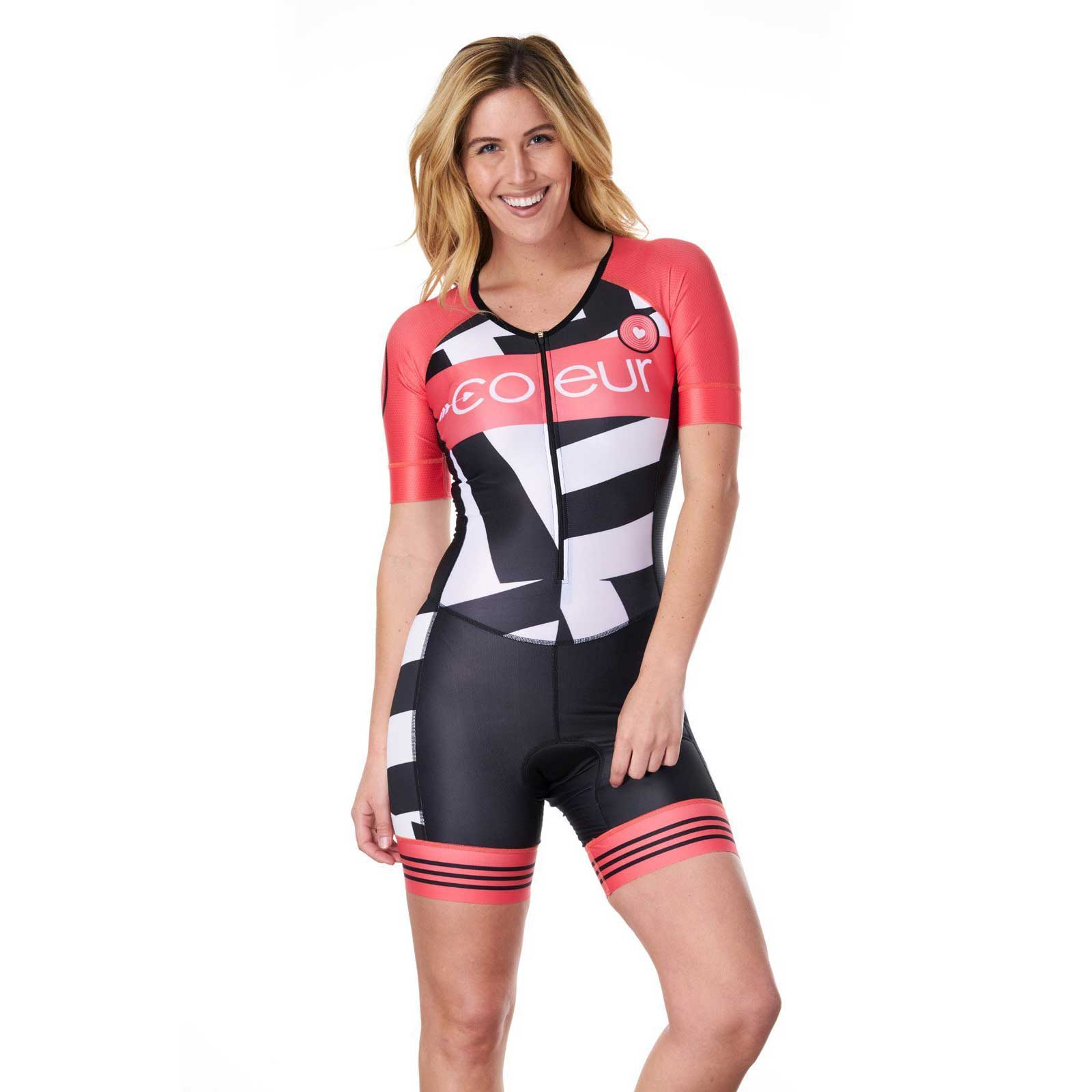 Coeur Sports Women's Sleeved Tri Suit
