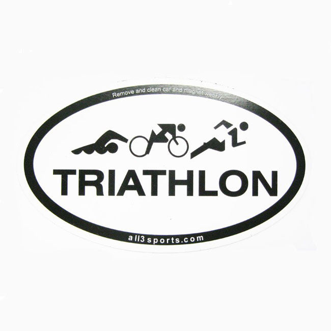 all3sports.com Triathlon Magnets
