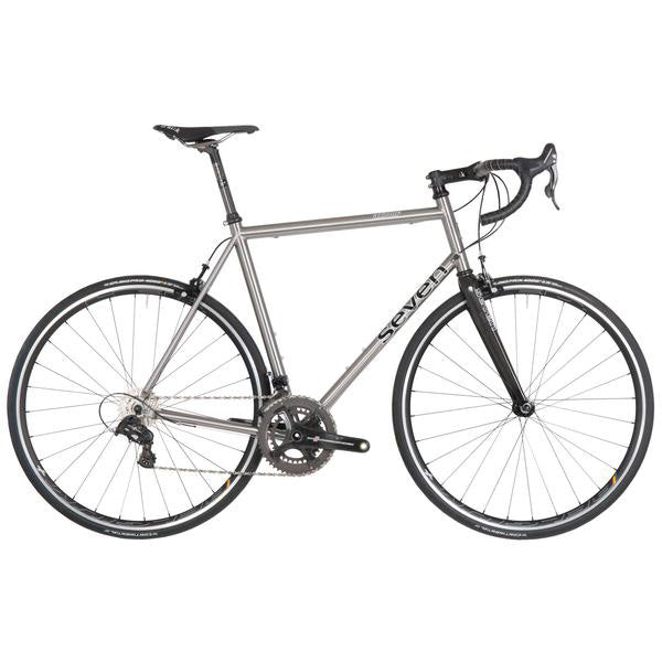 Seven Axiom Custom Titanium Road Bike