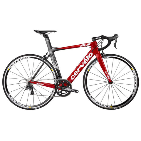 Cervelo S3 Ultegra 6800 Black/Red