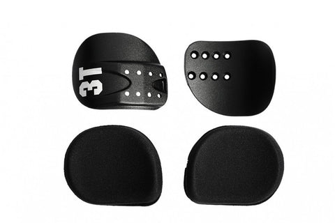 3T Comfort Cradles and Pad Kit - Alloy