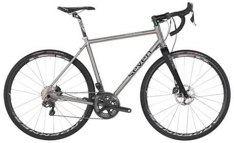 Seven Evergreen Custom Titanium Gravel Bike