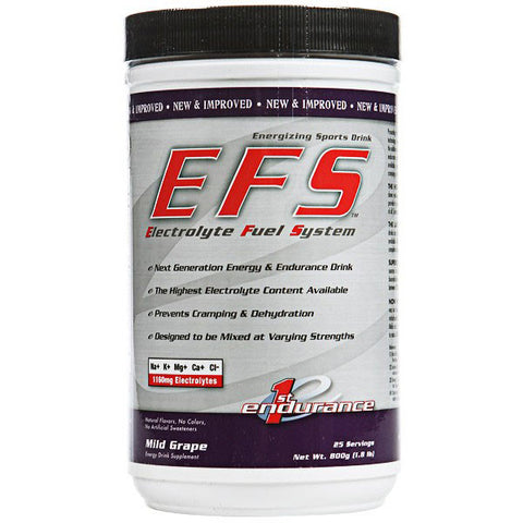 First Endurance - EFS Electrolyte Drink - 25 Servings