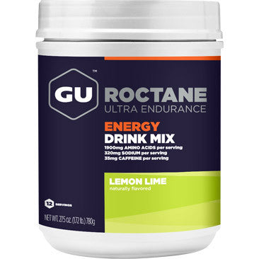 GU Roctane Energy Drink 12 Serving Canister
