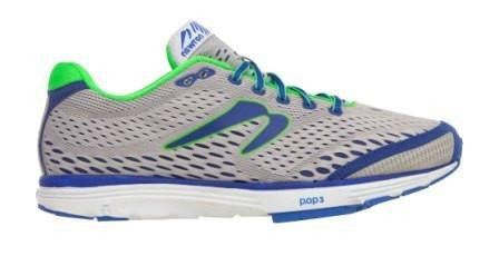 Newton AHA - Men's Silver/Blue 8.5