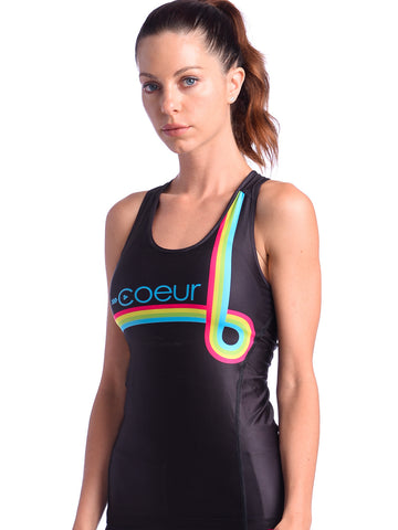 Coeur Mix Tape Tri Top - Women's