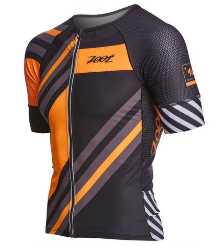 Zoot Ultra Tri Aero SS Top - Men's Racing Stripe