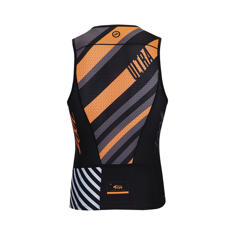 Zoot Ultra Tri Tank - Men's Racing Stripe