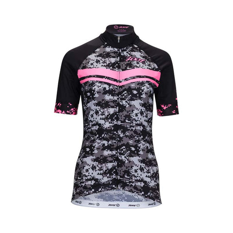 Zoot LTD Cycle Jersey - Women's High Viz Pink