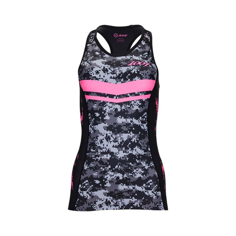 Zoot LTD Tri Racerback - Women's High Viz Pink