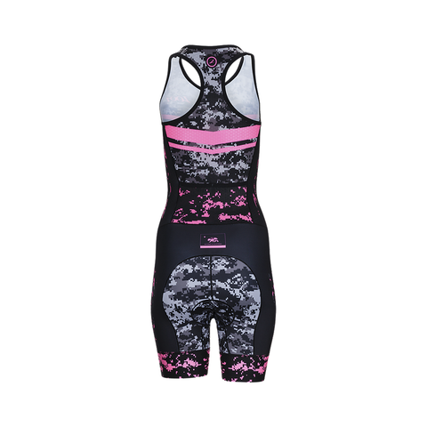 Zoot LTD Tri Racesuit - Women's High Viz Pink