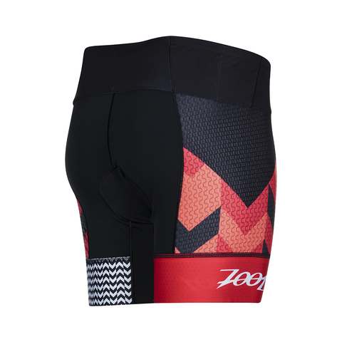 "Zoot Ultra Tri 6"" Short - Women's Chevron Stripe"