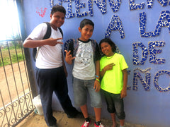Boy students at Education Plus Nicaragua