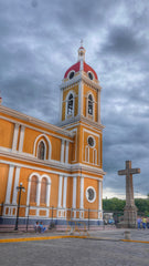 Cathedral of Granada in Parque Central Nicaragua