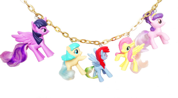 SOLD OUT LIMITED EDITION- WhErE hAvE aLl tHe UnIcOrNs GoNe?? My Little Pony Necklace