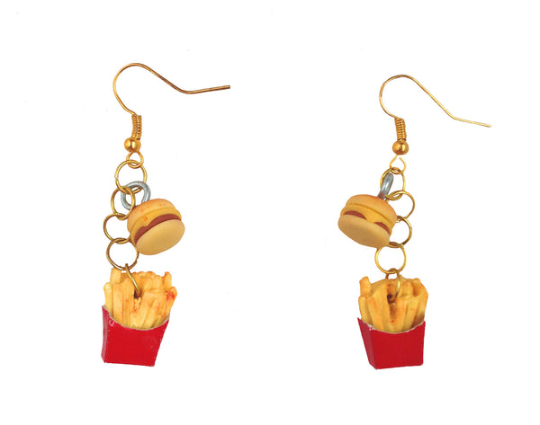SOLD OUT FaSt FoOd NaTiOn You Want Fries with That? Earrings