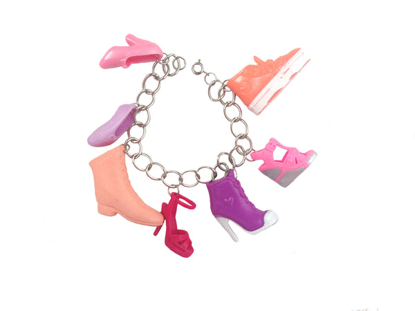 FaKe WoRlD Barbie Shoe Bracelet