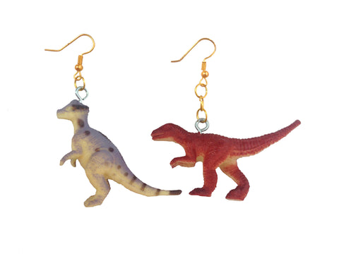 2 Young 2 B Old- Dinosaur Earrings
