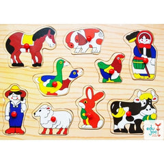 Puzzle incastru animale domestice